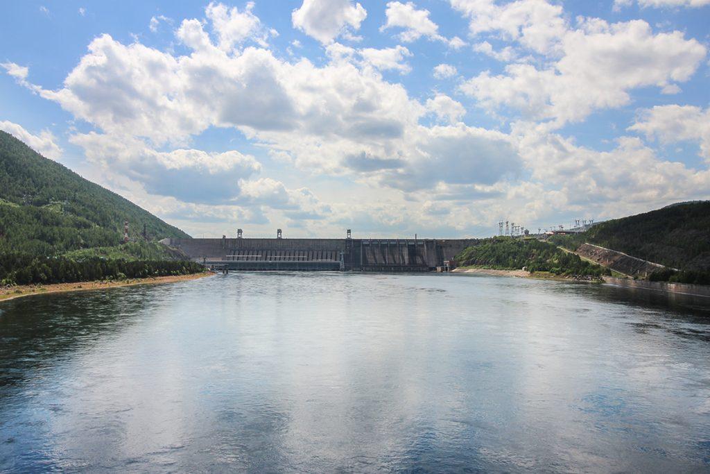 Krasnojarsk Staudamm