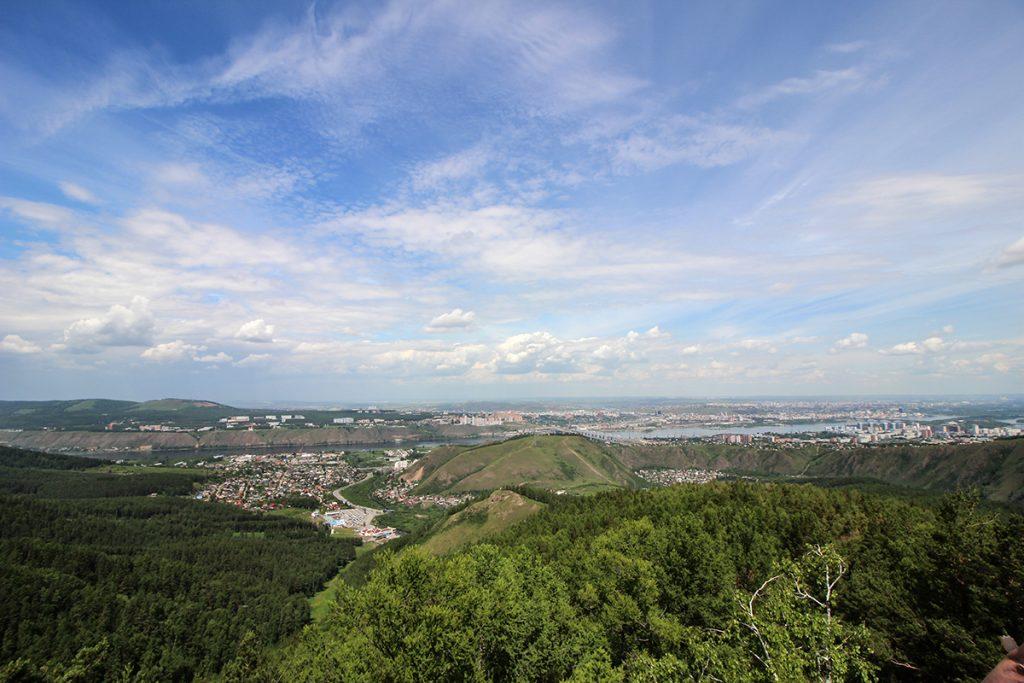 Panorama Krasnojarsk