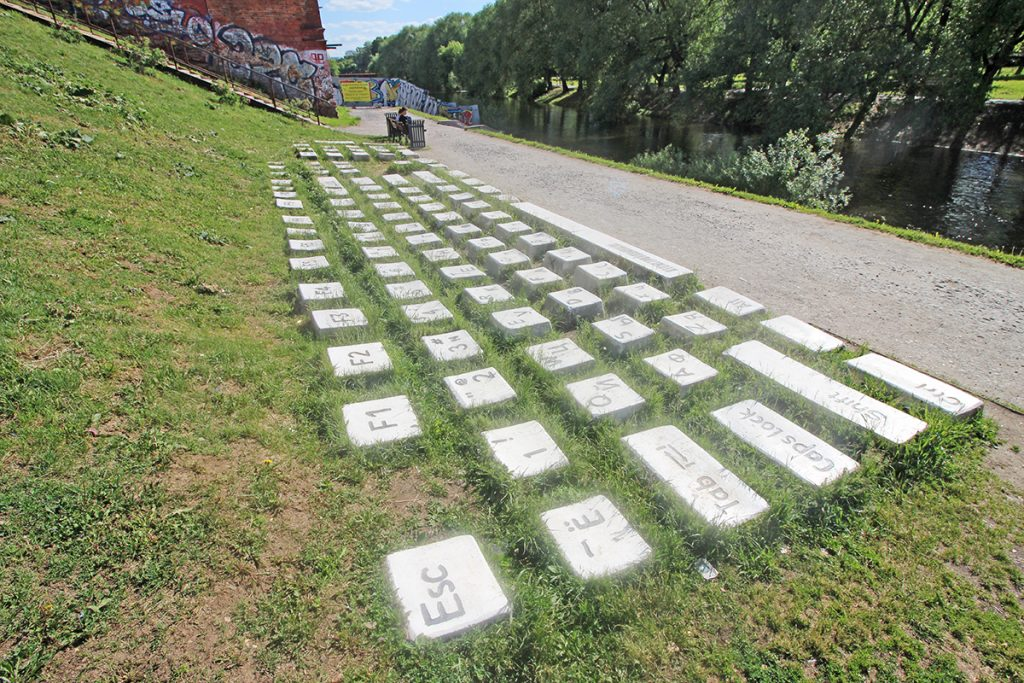 Tastatur Monument Yekaterinburg