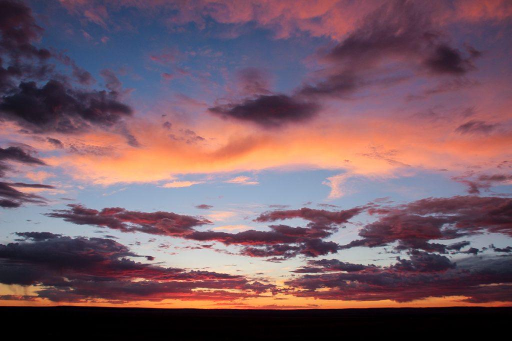 Sonnenuntergang Gobi