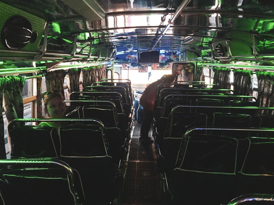 Reisebericht Sri Lanka, Busfahrt Nilaveli - Colombo
