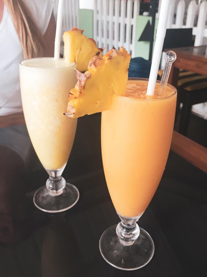 Reisebericht Sri Lanka, Mango Shake