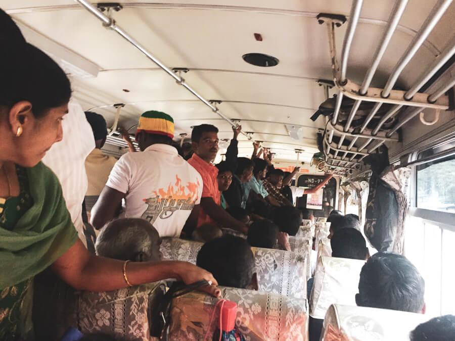 Reisebericht Sri Lanka Bus