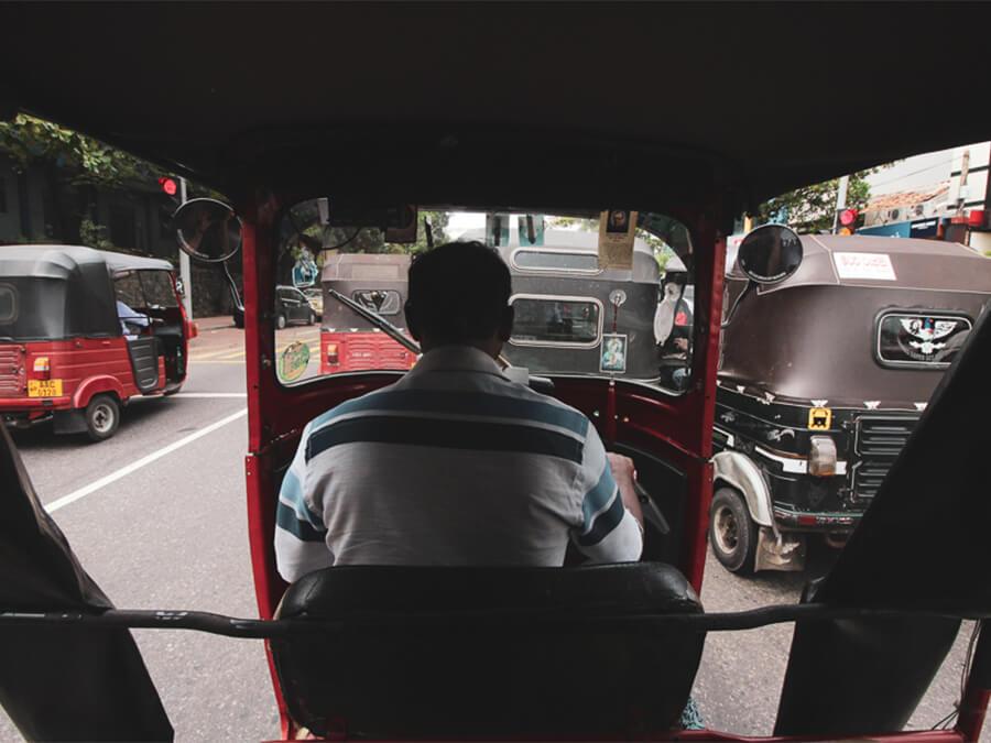 Reisebericht Sri Lanka, Tuc Tuc Colombo