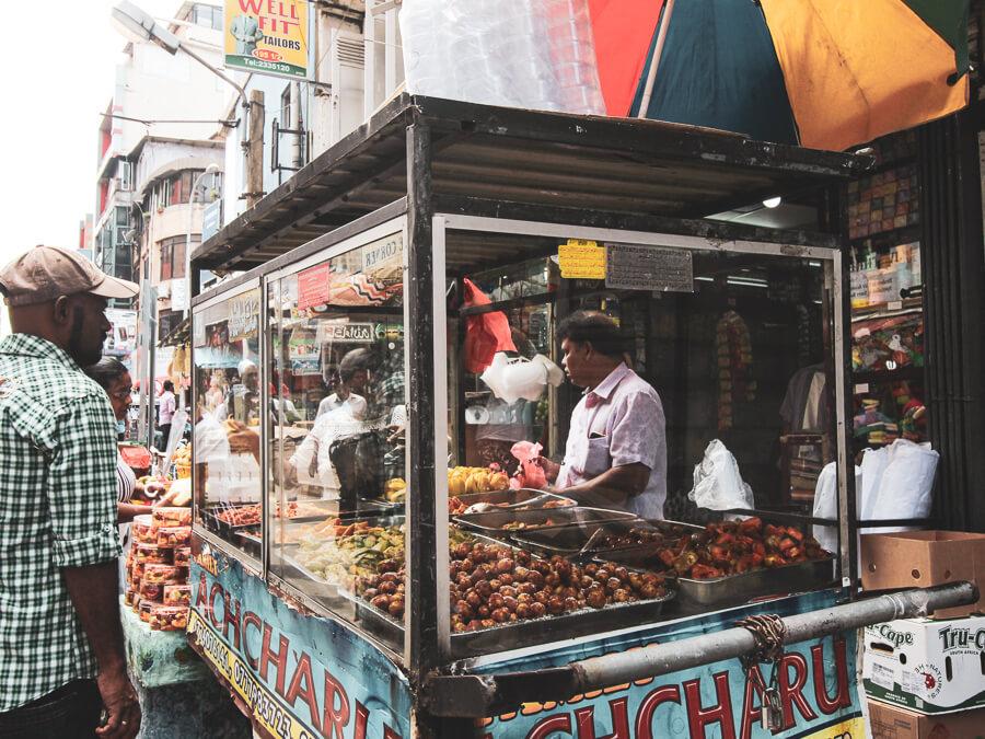 Reisebericht Sri Lanka, Streetfood