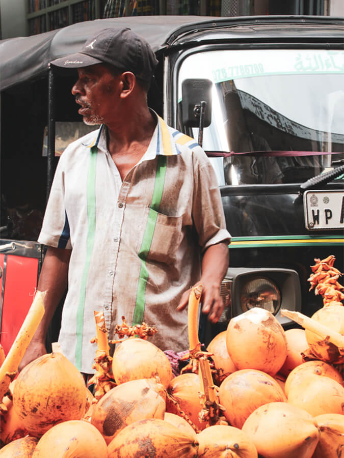 Reisebericht Sri Lanka, Market Colombo