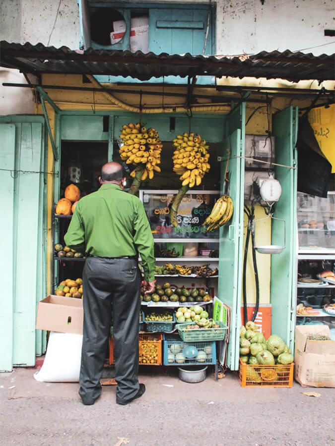 Reisebericht Sri Lanka, Banana Store