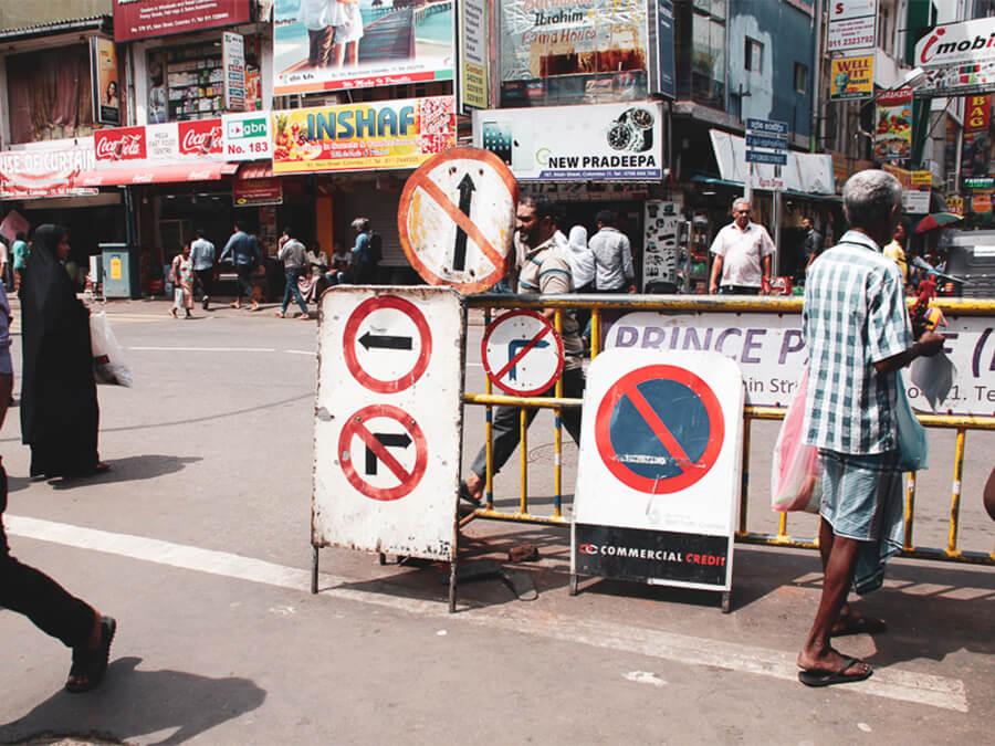 Reisebericht Sri Lanka, Colombo