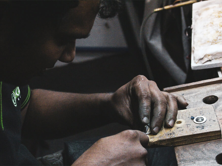 Reisebericht Sri Lanka, Diamonds Factory
