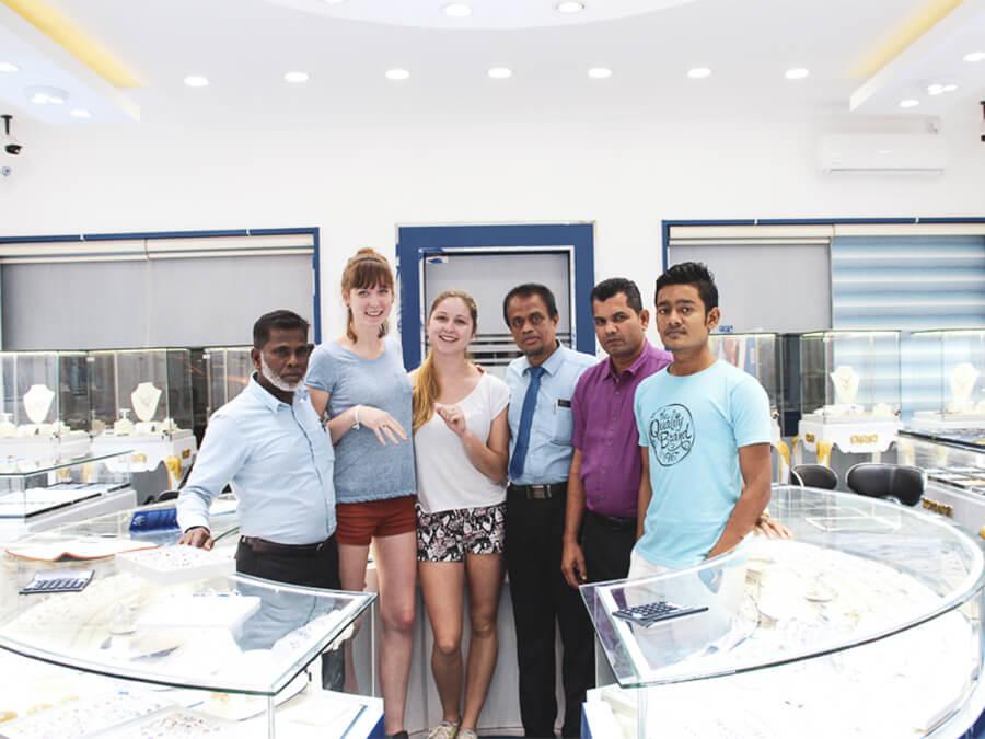 Reisebericht Sri Lanka, Diamanten