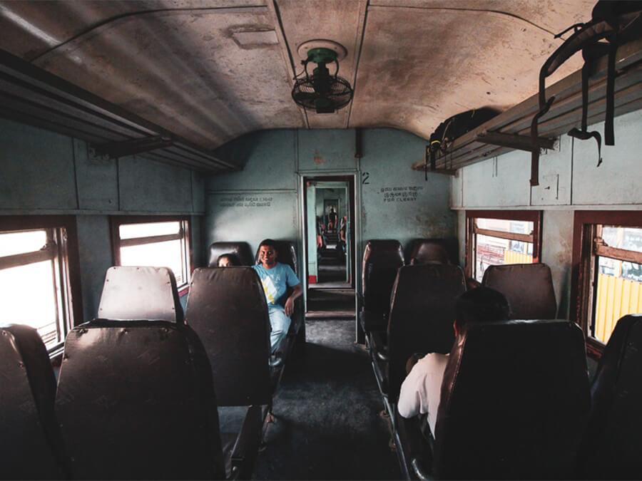 Reisebericht Sri Lanka, Zugfahrt