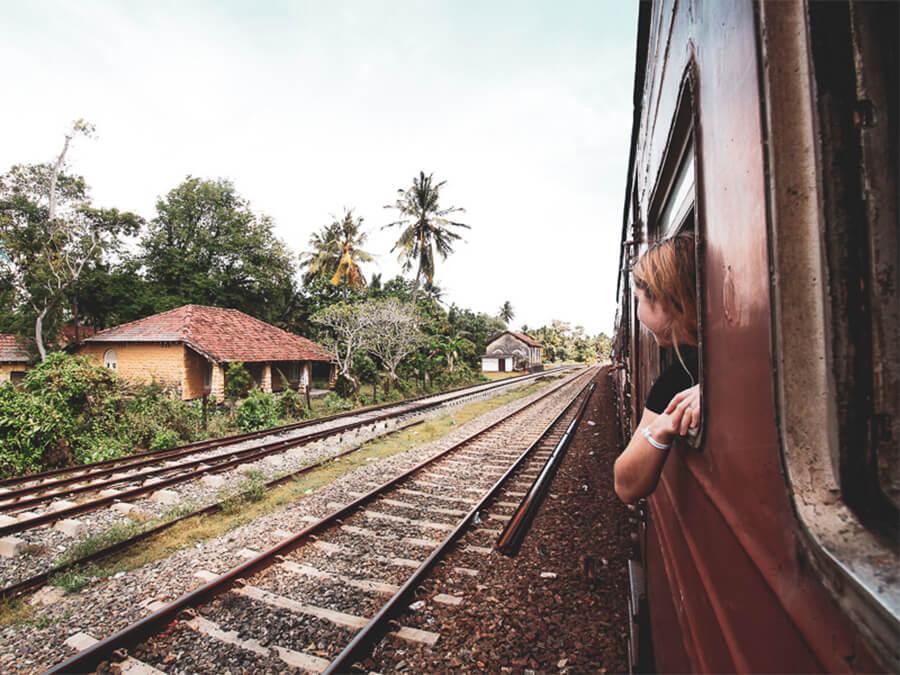 Reisebericht Sri Lanka, Train to Mirissa