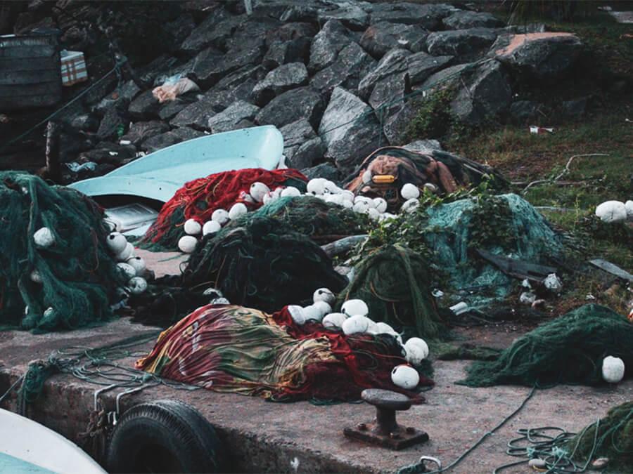 Reisebericht Sri Lanka, Fisher Netze