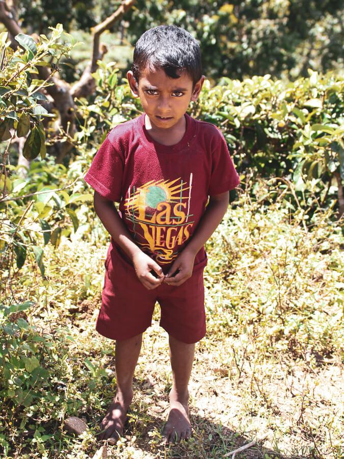 Reisebericht Sri Lanka, Little boy