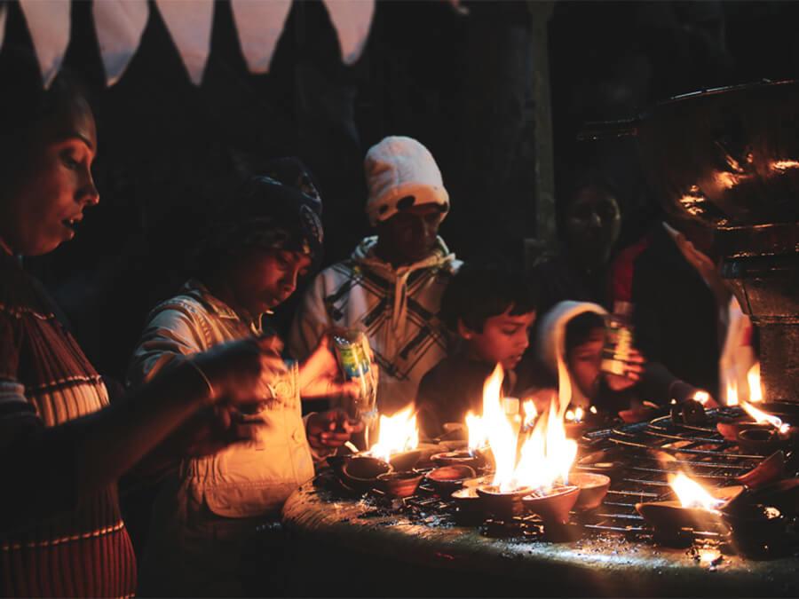 Reisebericht Sri Lanka, Prayer Adams Peak