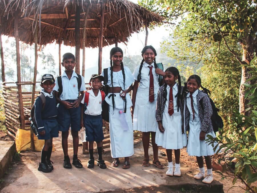 Reisebericht Sri Lanka, Schoolkids Maskeilyia