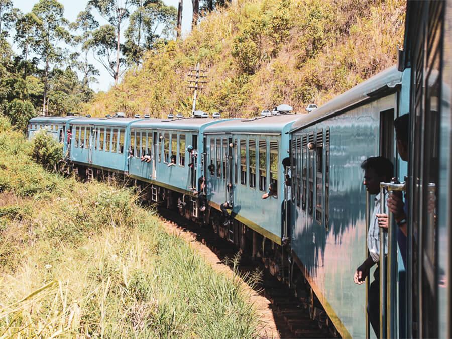 Reisebericht Sri Lanka, Train from Ella to Kandy