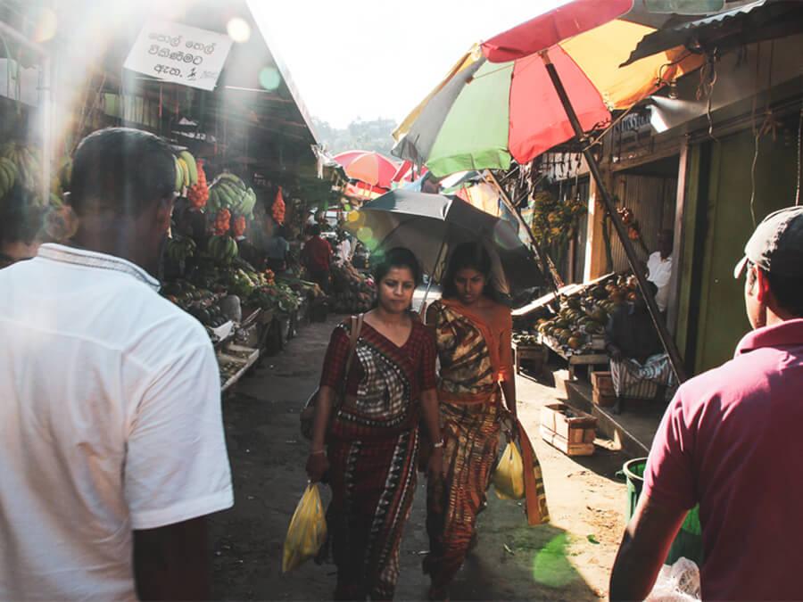 Reisebericht Sri Lanka, Market Kandy