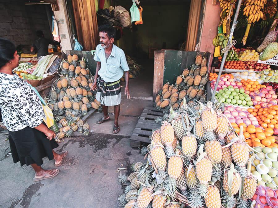 Reisebericht Sri Lanka, Market