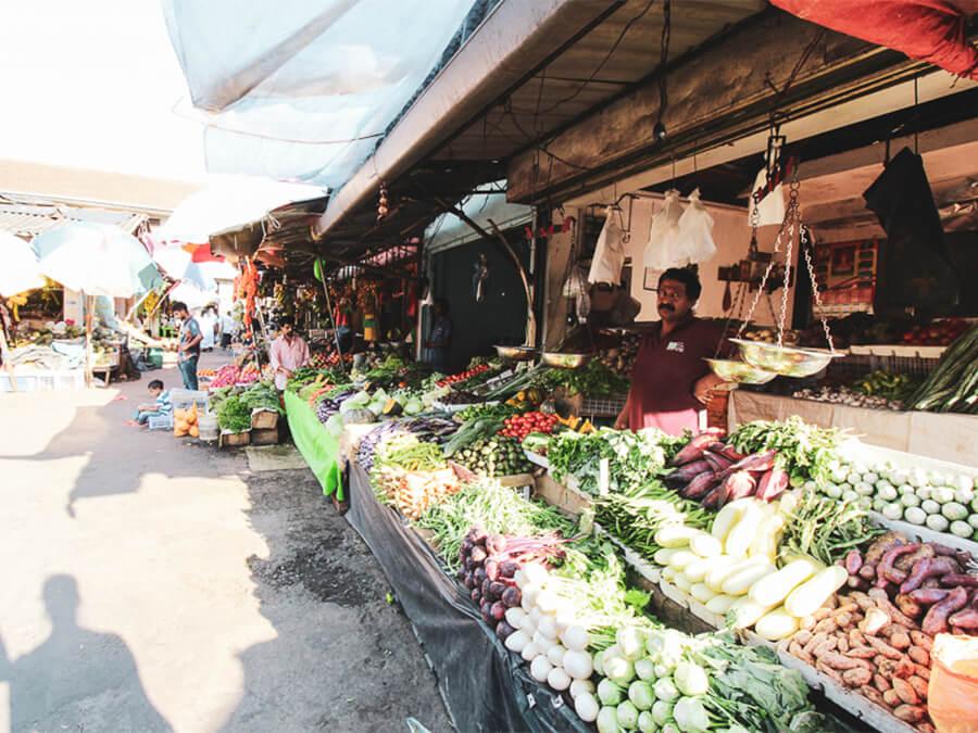 Reisebericht Sri Lanka, Vegetable Market