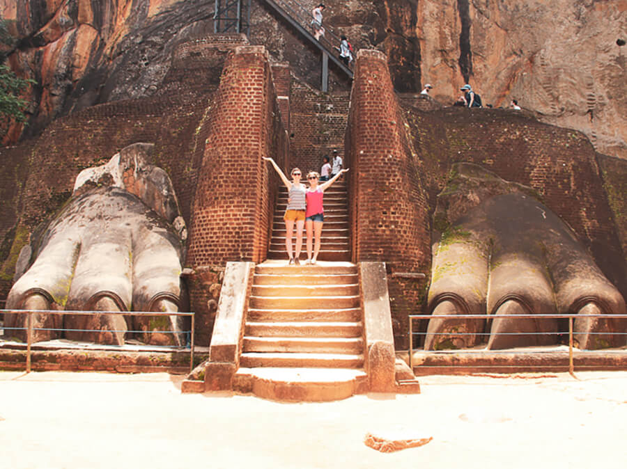 Reisebericht Sri Lanka, Lionsrock