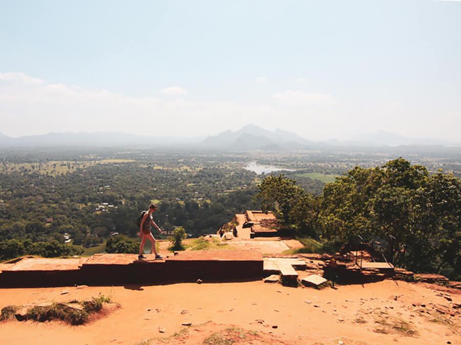 Reisebericht Sri Lanka, Lions Rock, Sigiria