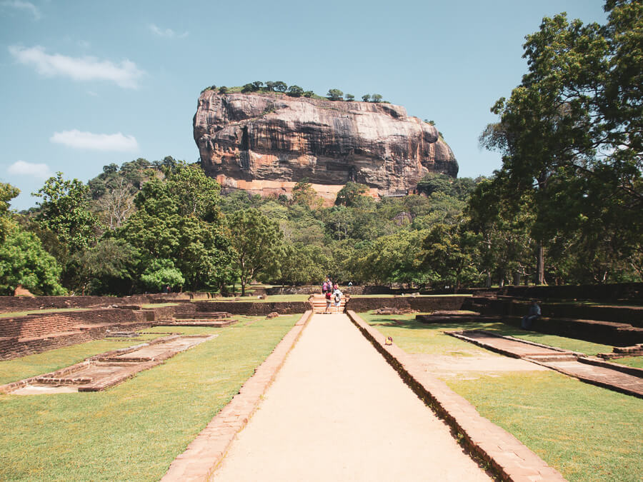 Reisebericht Sri Lanka, Sigiria, Lions Rock