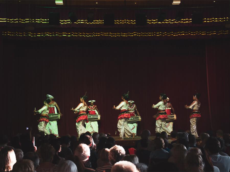 Reisebericht Sri Lanka, Traditional Dancers, Traditionelle Tänzer