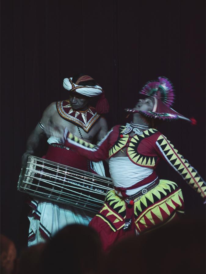 Reisebericht Sri Lanka, Traditioneller Tanz