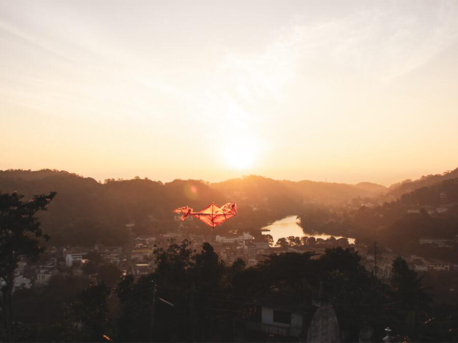 Reisebericht Sri Lanka, Kandy sunrise