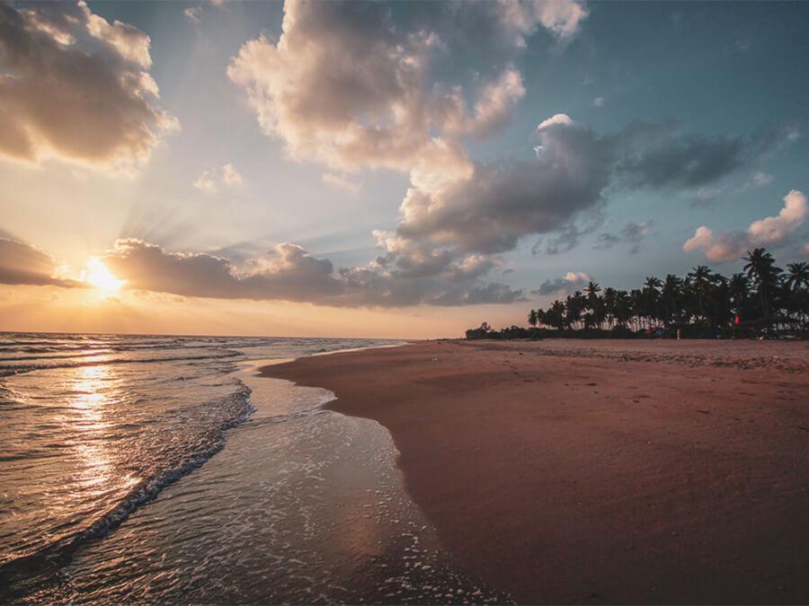 Reisebericht Sri Lanka, Beach, Nilaveli, Sunrise
