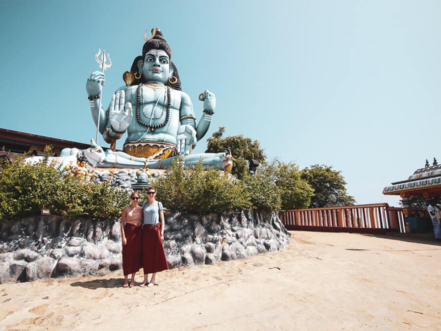 Reisebericht Sri Lanka, Hindu Tempel Trincomalee