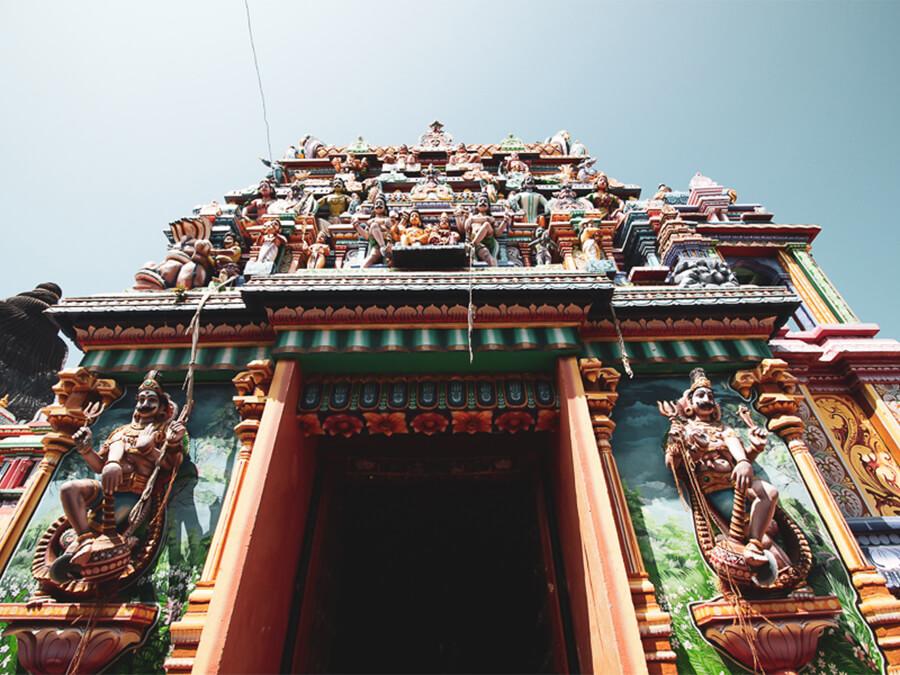 Reisebericht Sri Lanka, Hindu Tempel
