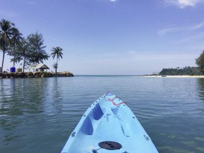 Kajak, Kanu, Thailand, Kho Chang, Sea