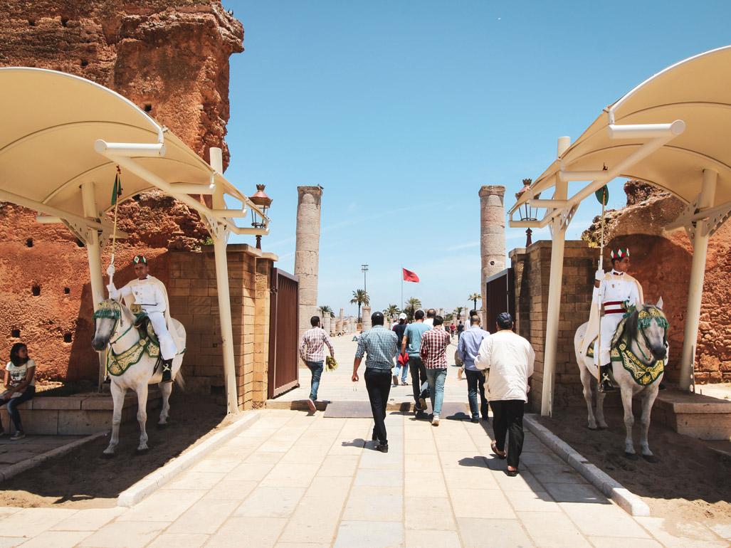 Roadtrip Marokko, Rabat, Moschee