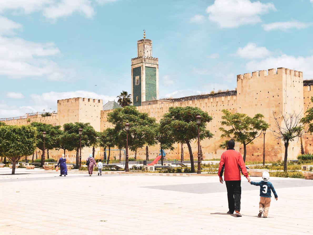 Meknés Platz, Roadtrip Marokko