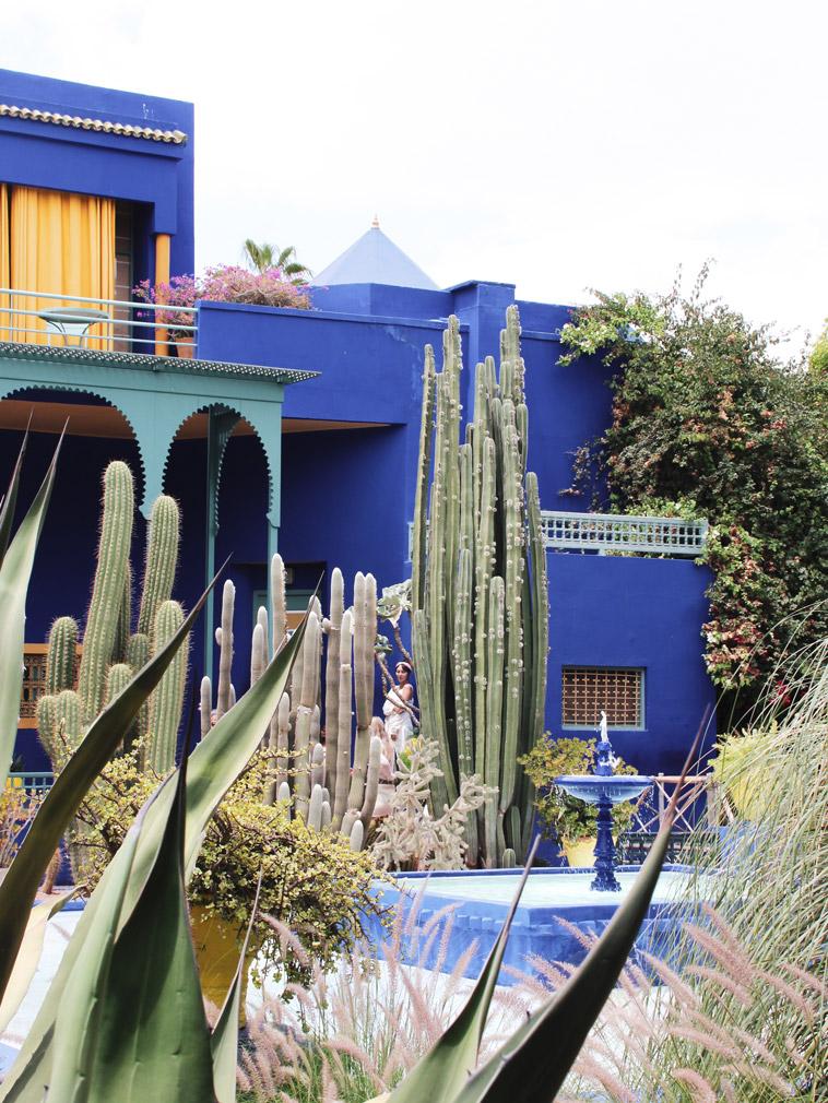 Jardin Majorelle, Marrakesch, Roadtrip Marokko