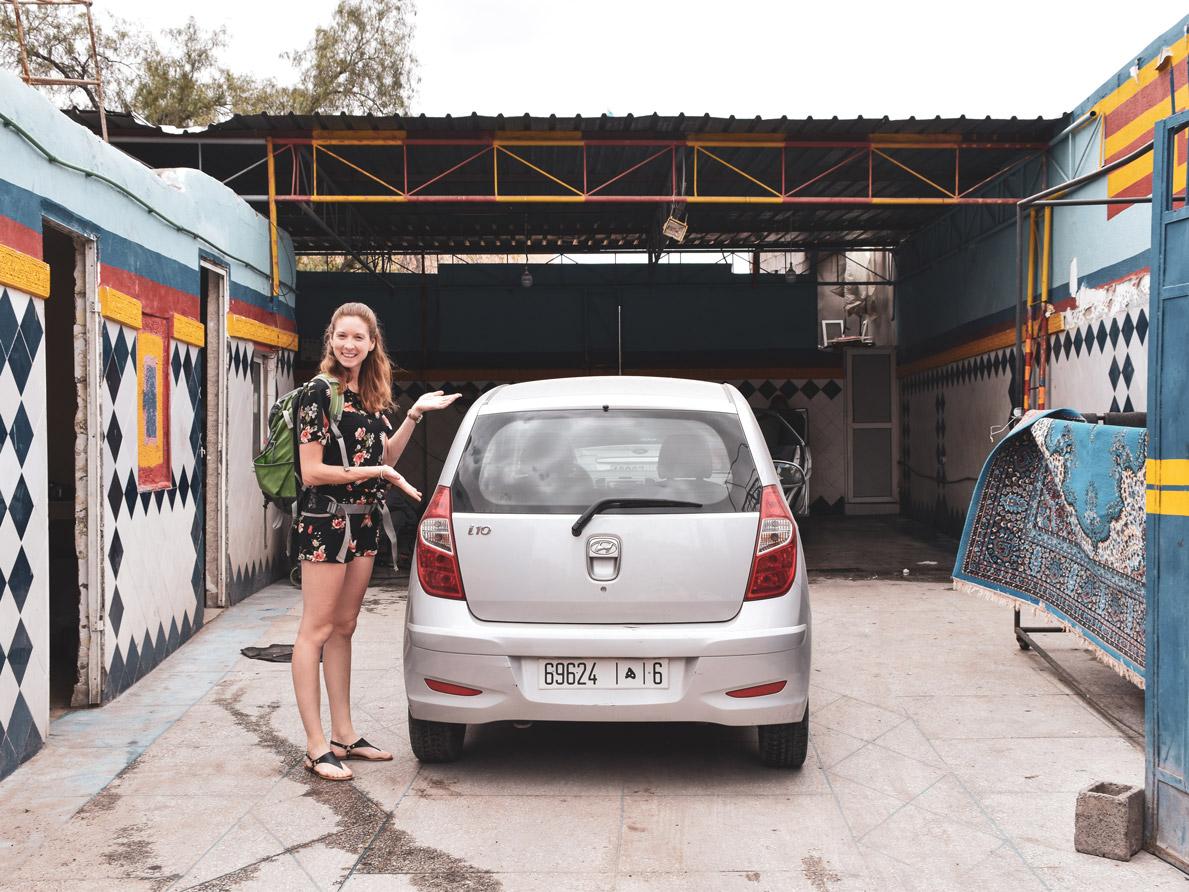 Autowaschservice, Roadtrip Marokko