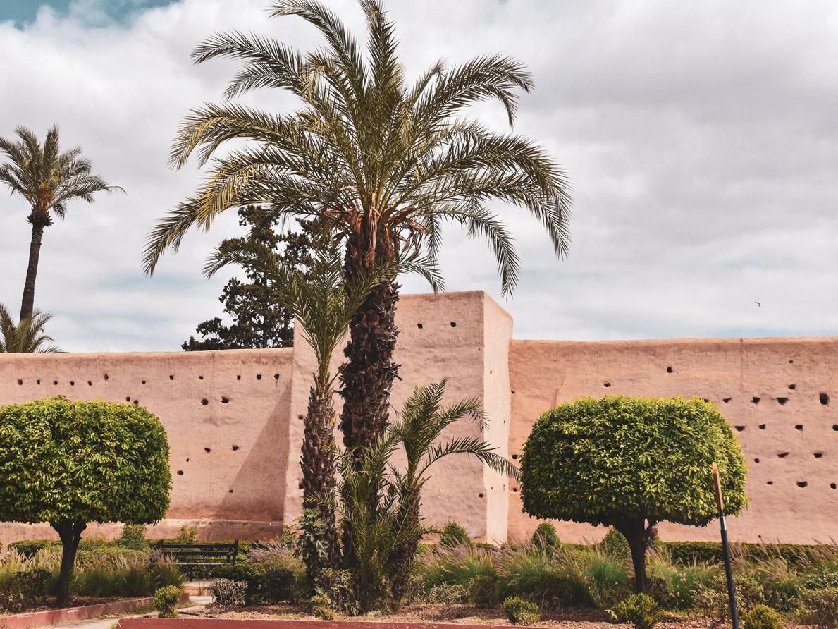 Mauer Marrakesch, Roadtrip Marokko