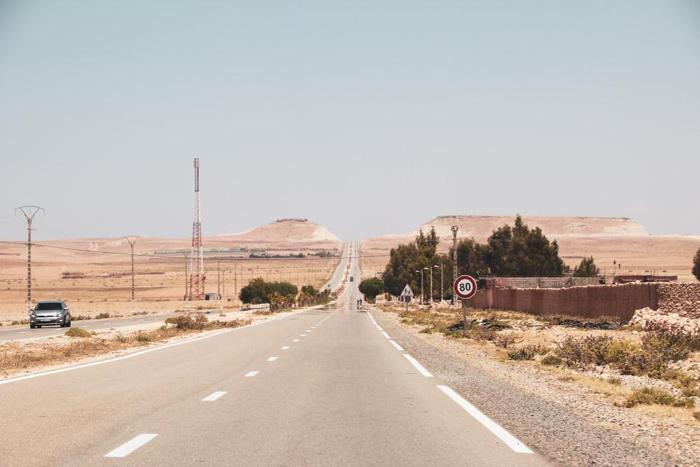 Roadtrip Marokko, Road